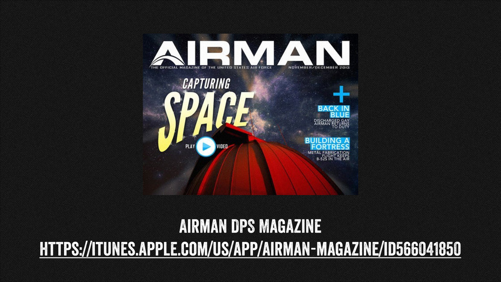 Airman DPS Magazine https://itunes.apple.com/us...