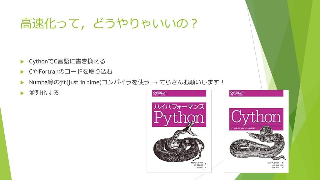 %-&  u CythonC(,*.  u CFortran...