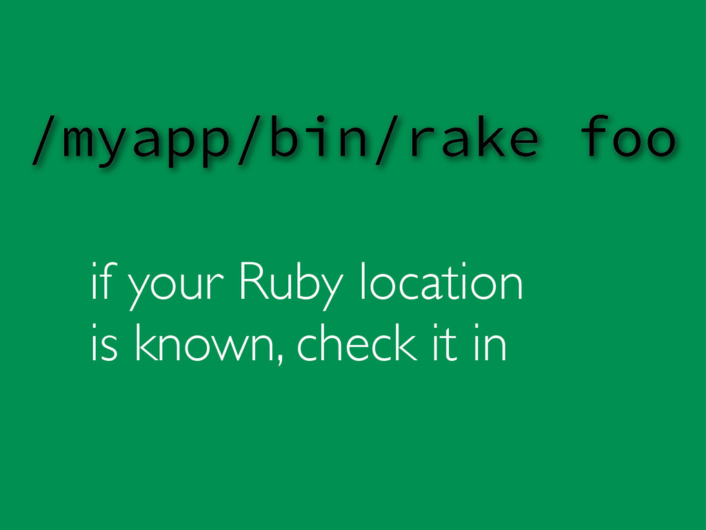 if your Ruby location is known, check it in /my...
