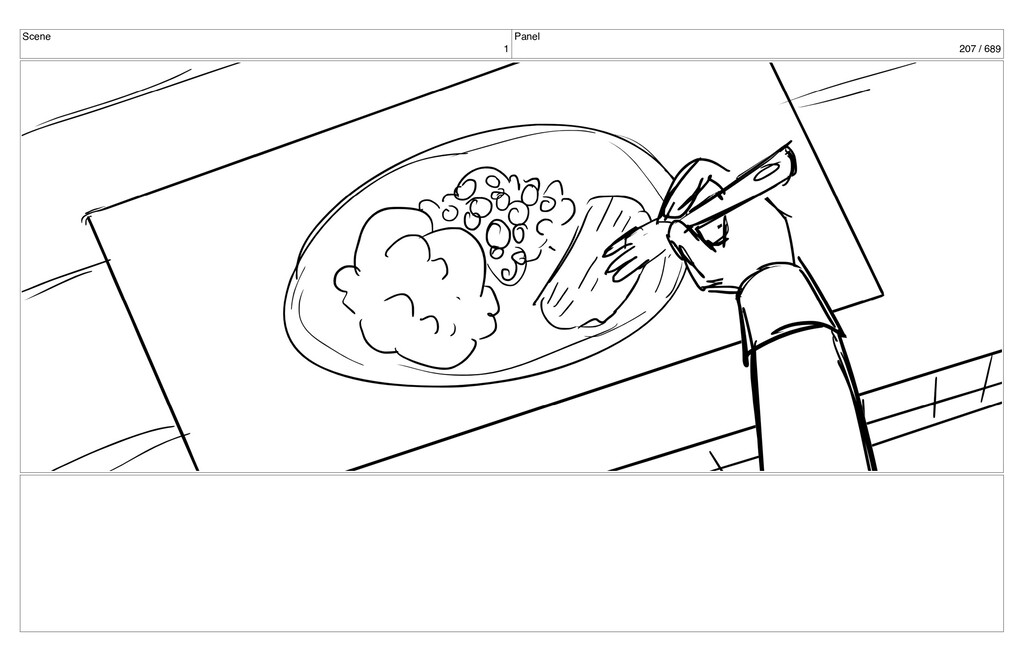 Scene 1 Panel 207 / 689