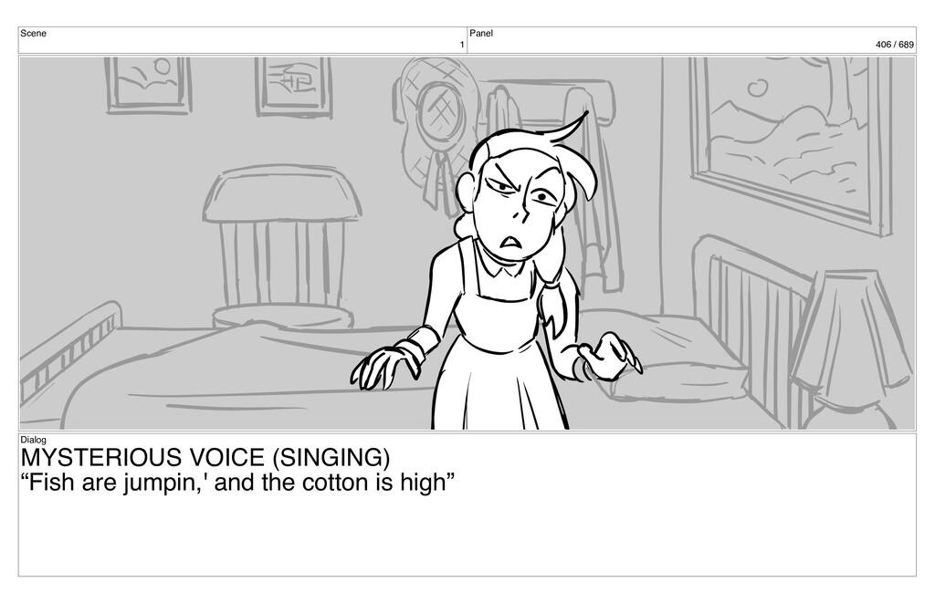 Scene 1 Panel 406 / 689 Dialog MYSTERIOUS VOICE...