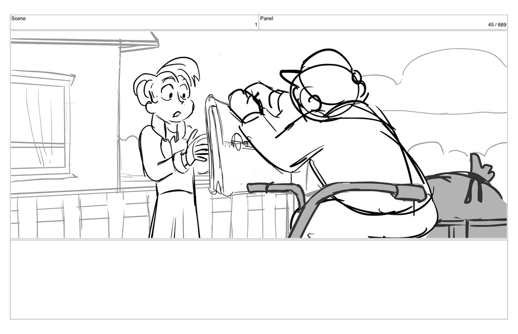 Scene 1 Panel 45 / 689