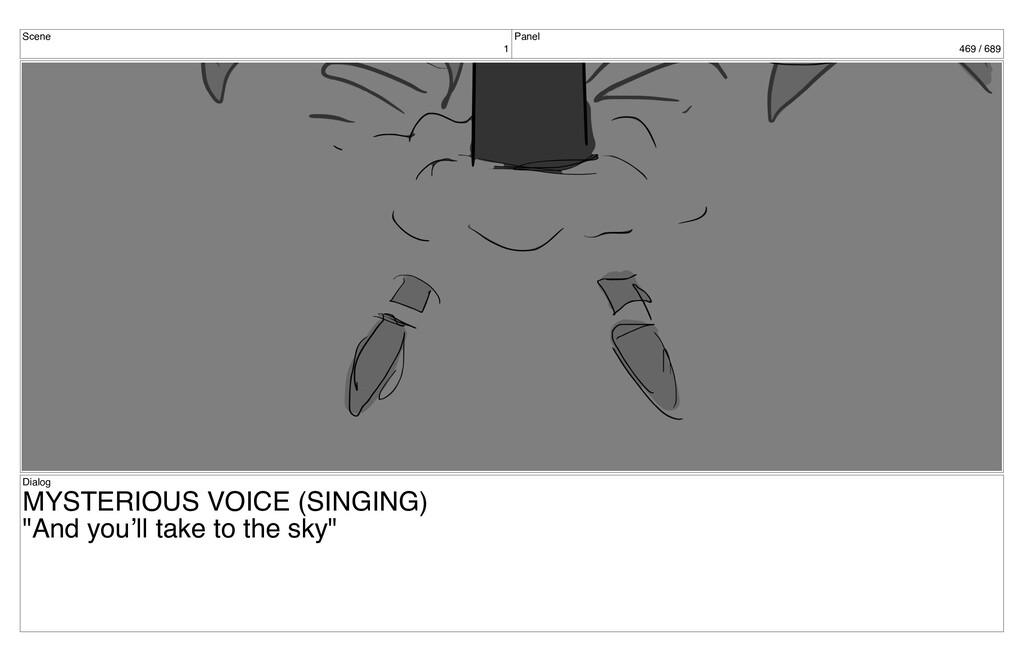 Scene 1 Panel 469 / 689 Dialog MYSTERIOUS VOICE...