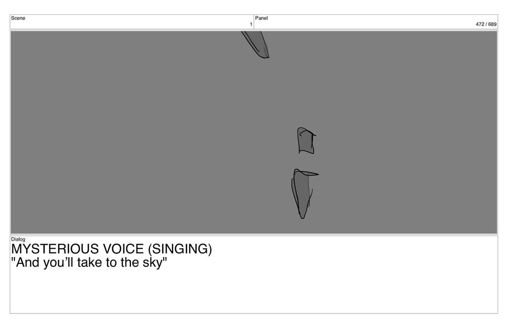 Scene 1 Panel 472 / 689 Dialog MYSTERIOUS VOICE...