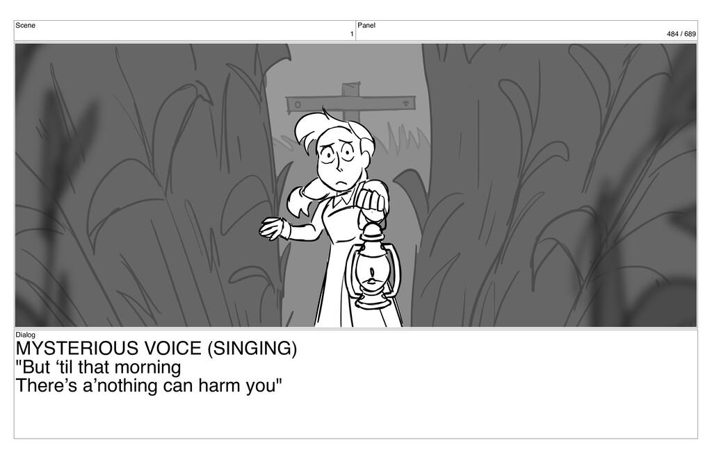 Scene 1 Panel 484 / 689 Dialog MYSTERIOUS VOICE...