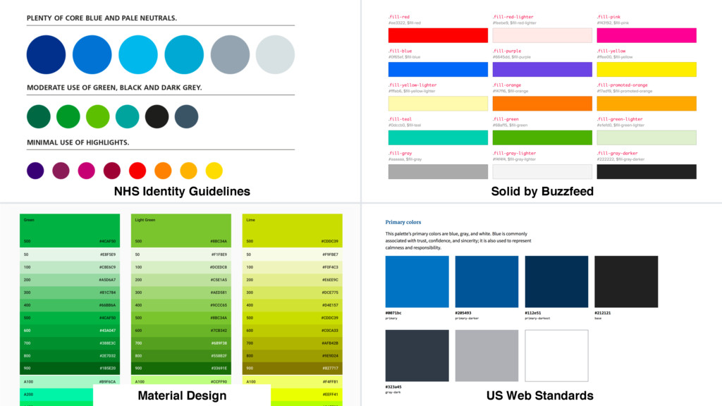 Material Design NHS Identity Guidelines Solid b...