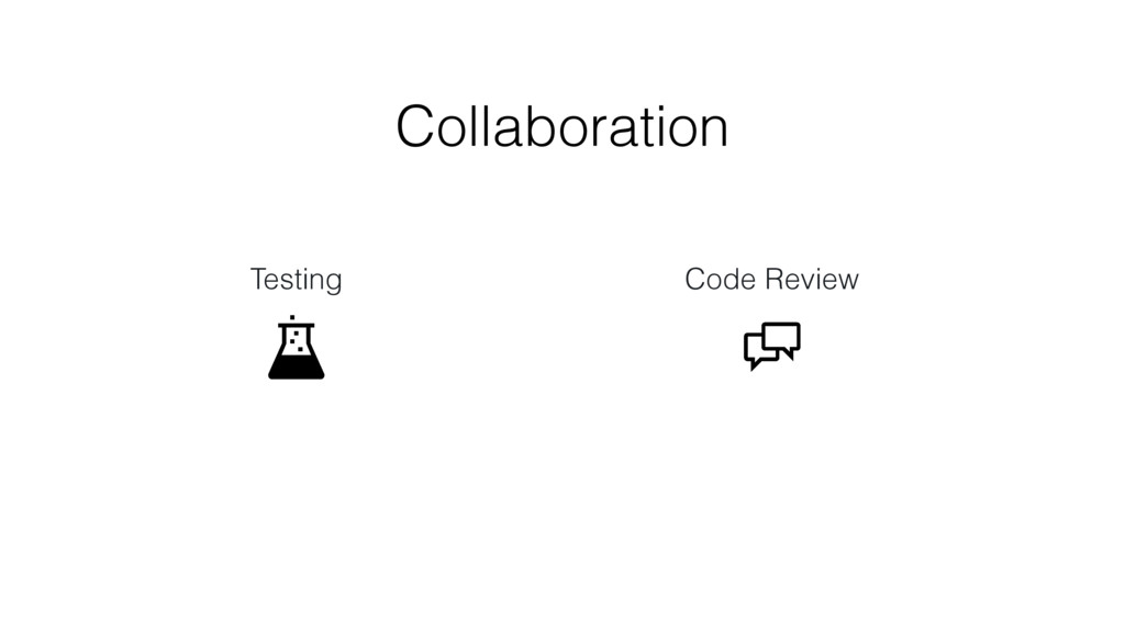 Testing Code Review Collaboration