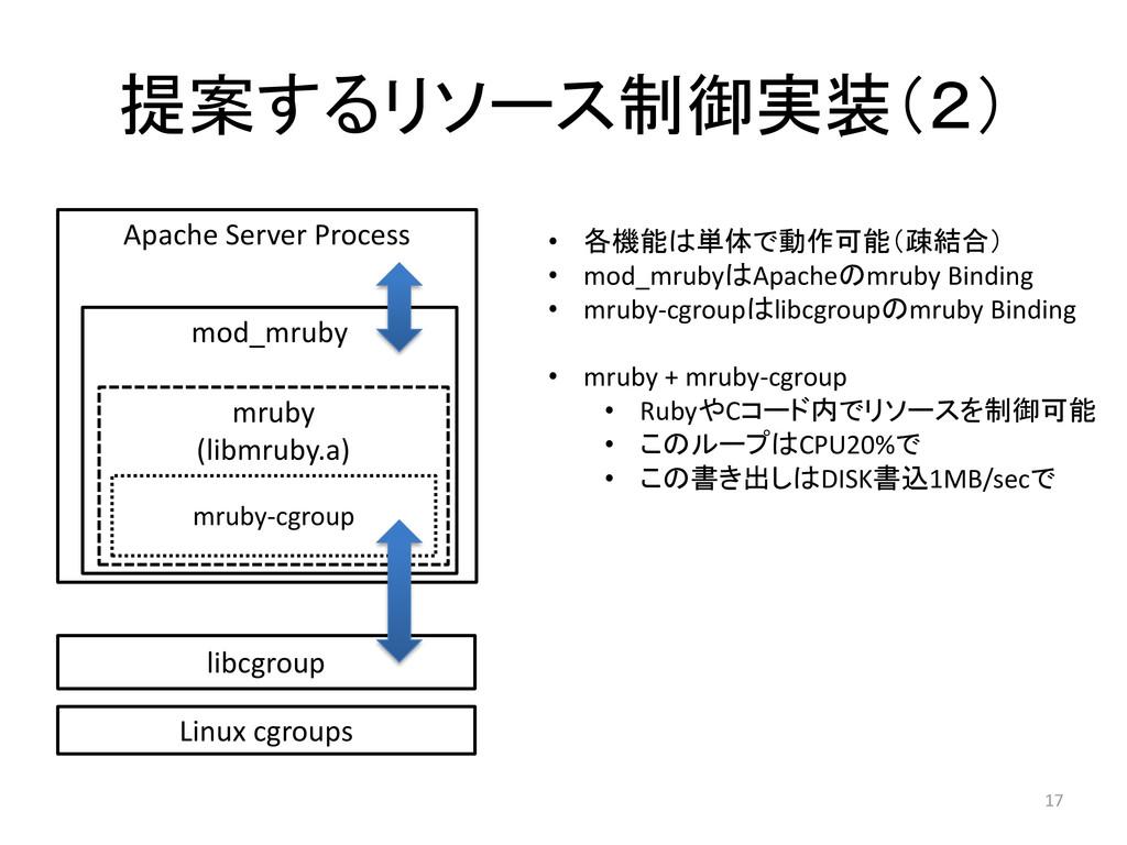 17 Apache Server Process mod_mruby mruby (libmr...