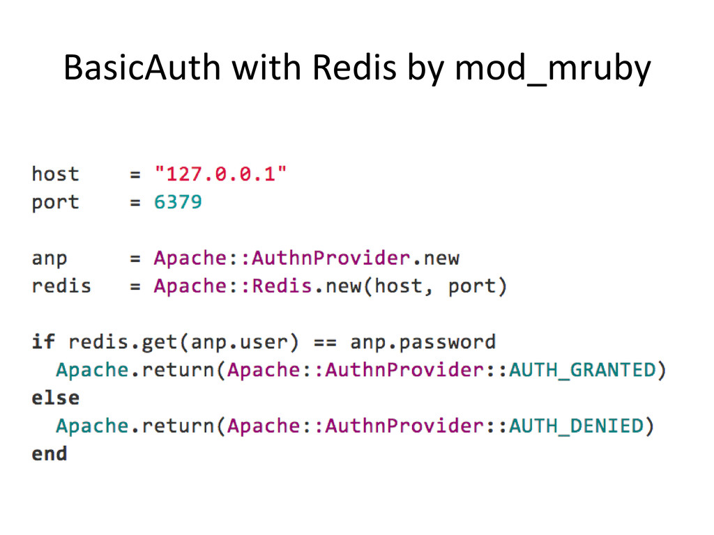 BasicAuth with Redis by mod_mruby