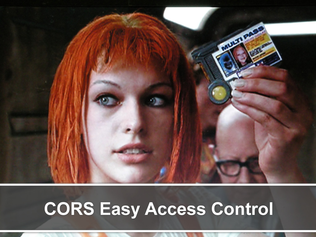 CORS Easy Access Control
