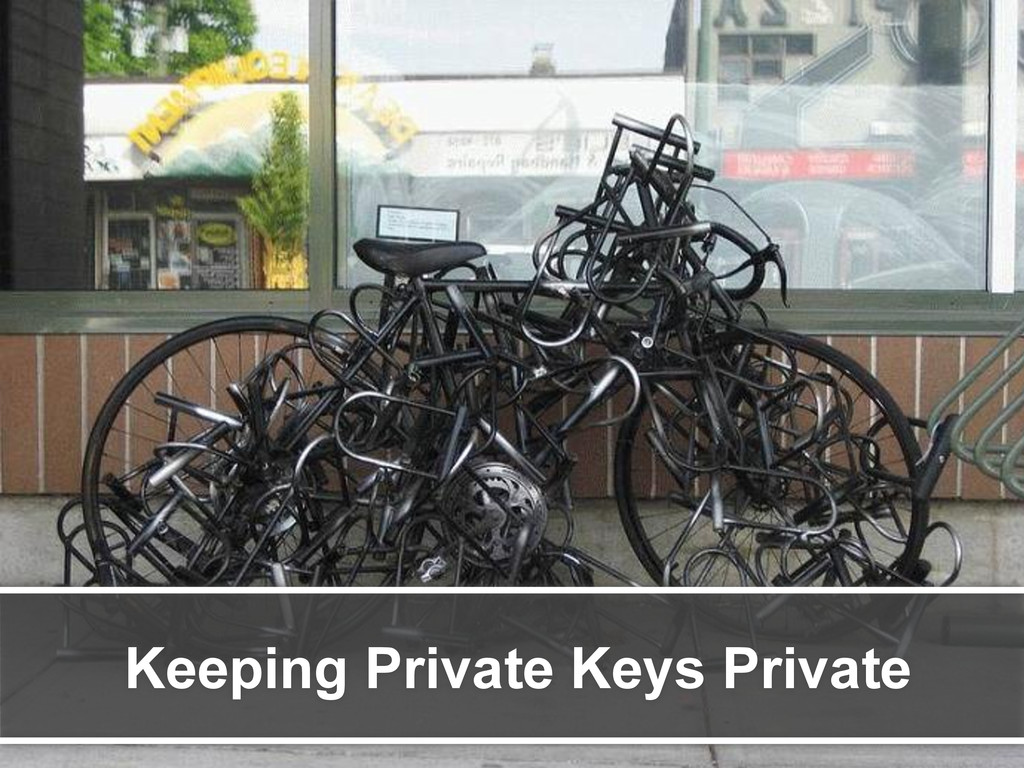Keeping Private Keys Private