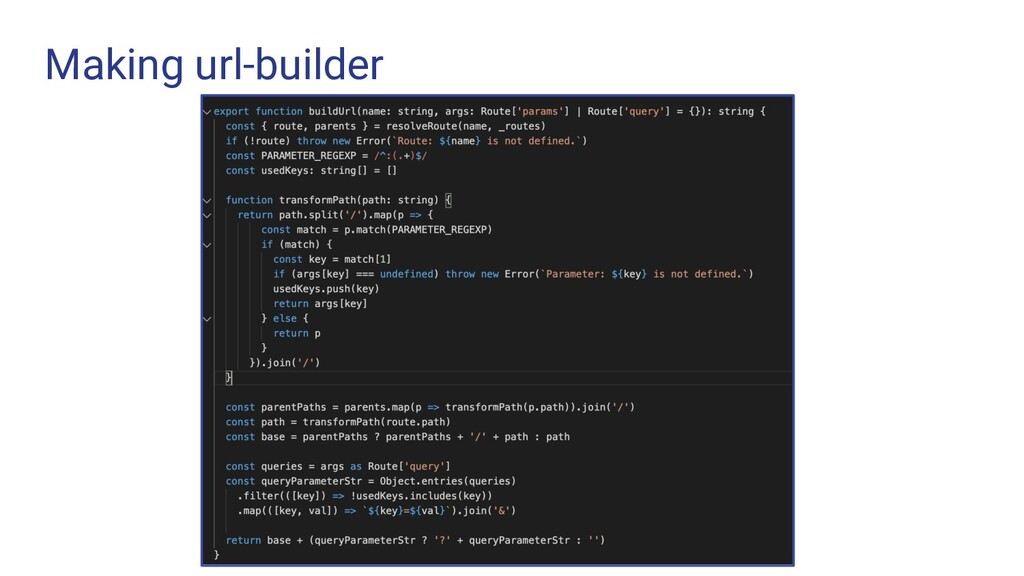 Making url-builder