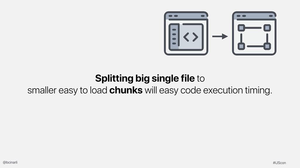 Splitting big single file to smaller easy to lo...