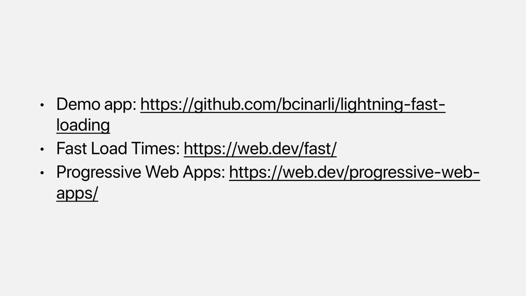• Demo app: https://github.com/bcinarli/lightni...