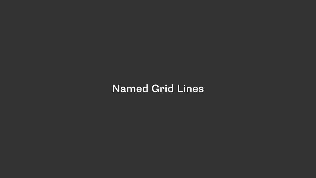 Named Grid Lines