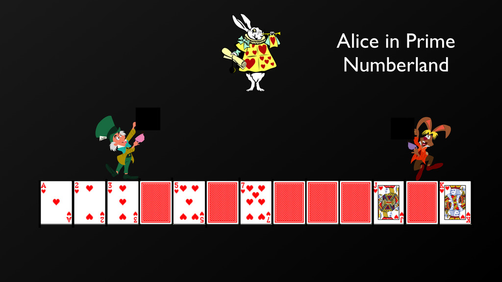 Alice in Prime Numberland