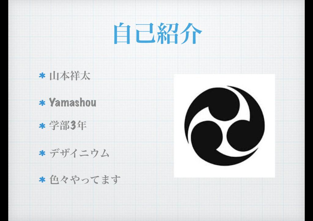 ࣗݾհ ຊଠ Yamashou ֶ෦3 σβΠχϜ ৭ʑͬͯ·͢