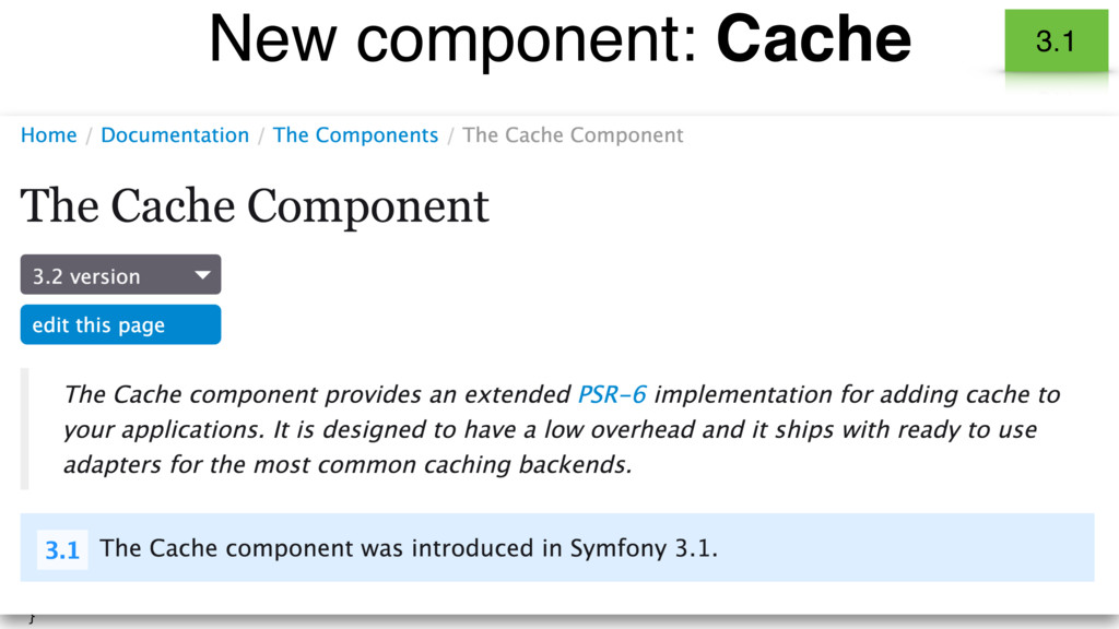 • Implementation of the PSR-6 - Caching interfa...