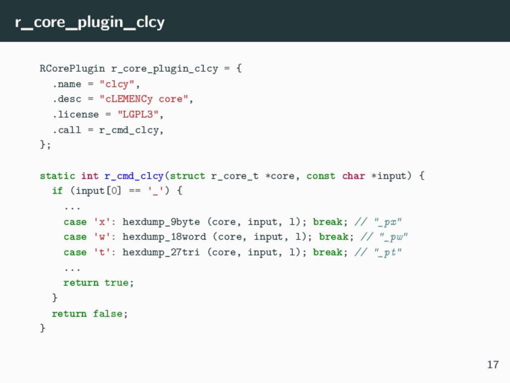 r_core_plugin_clcy RCorePlugin r_core_plugin_cl...