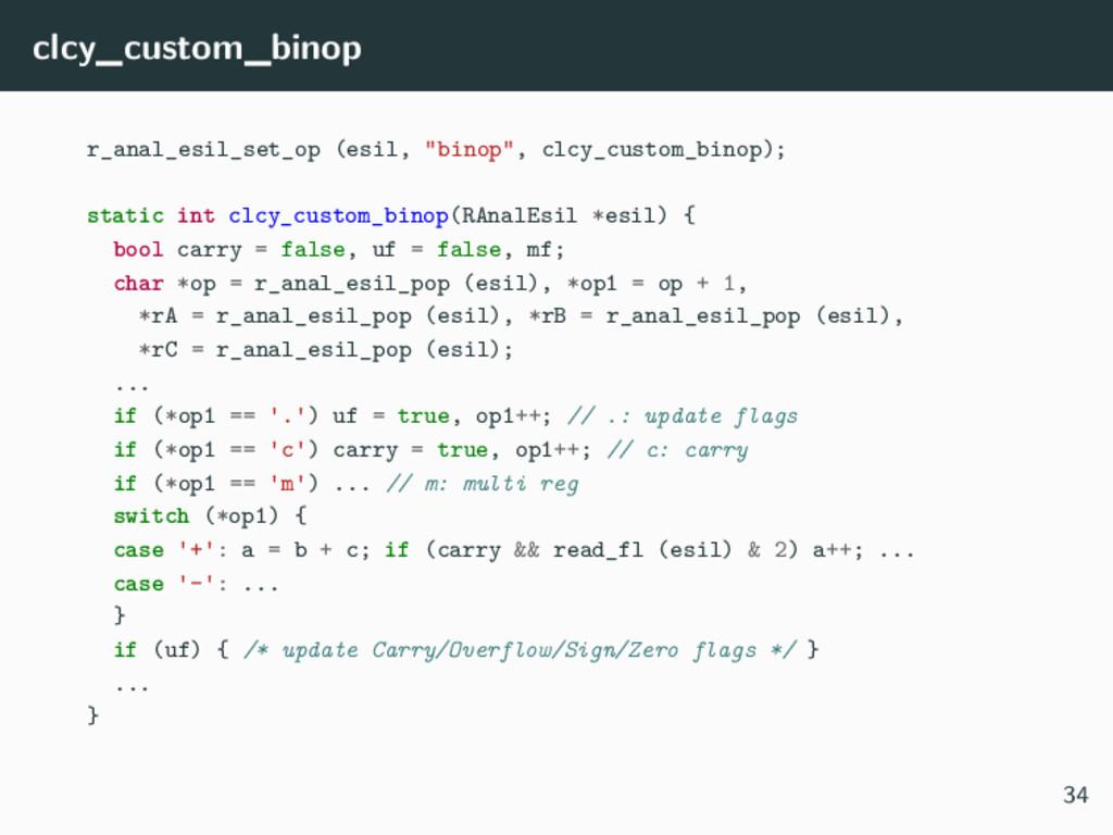 "clcy_custom_binop r_anal_esil_set_op (esil, ""bi..."
