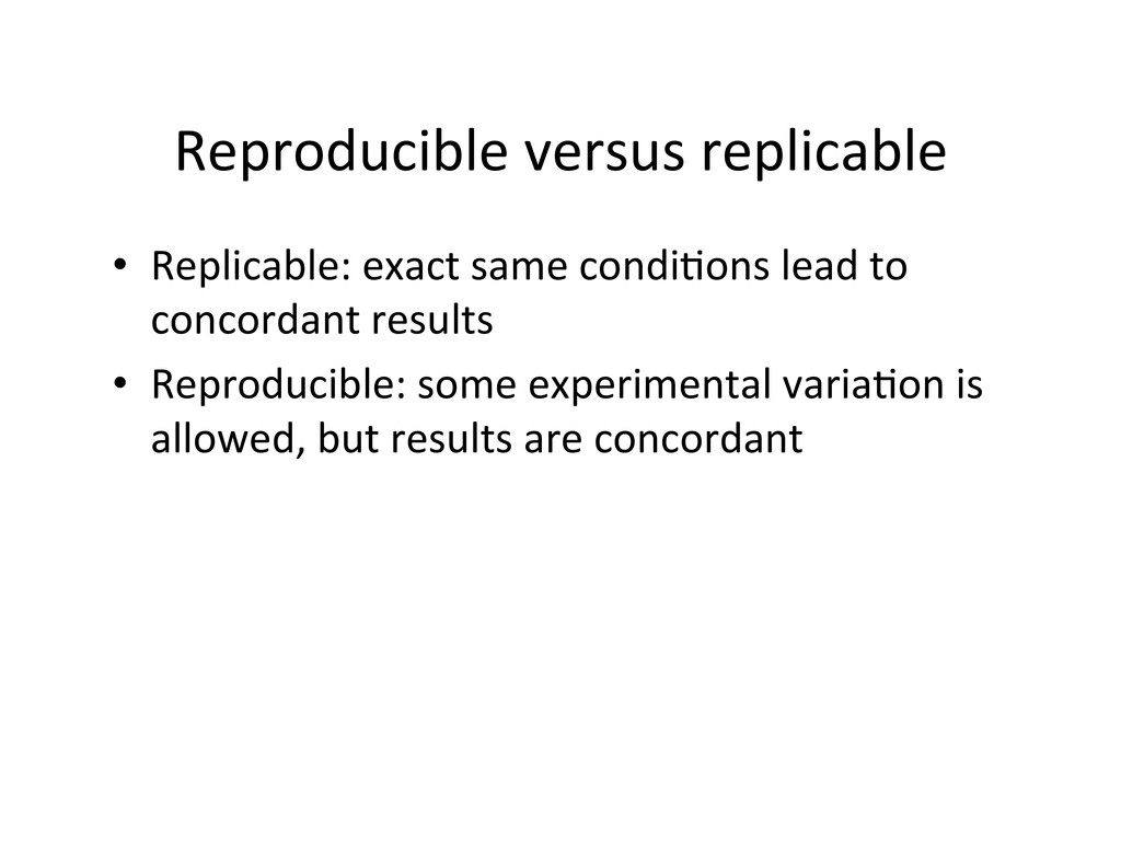 Reproducible	