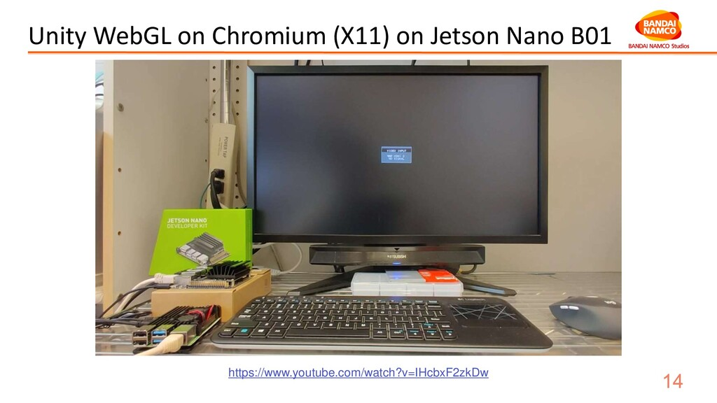 Unity WebGL on Chromium (X11) on Jetson Nano B0...