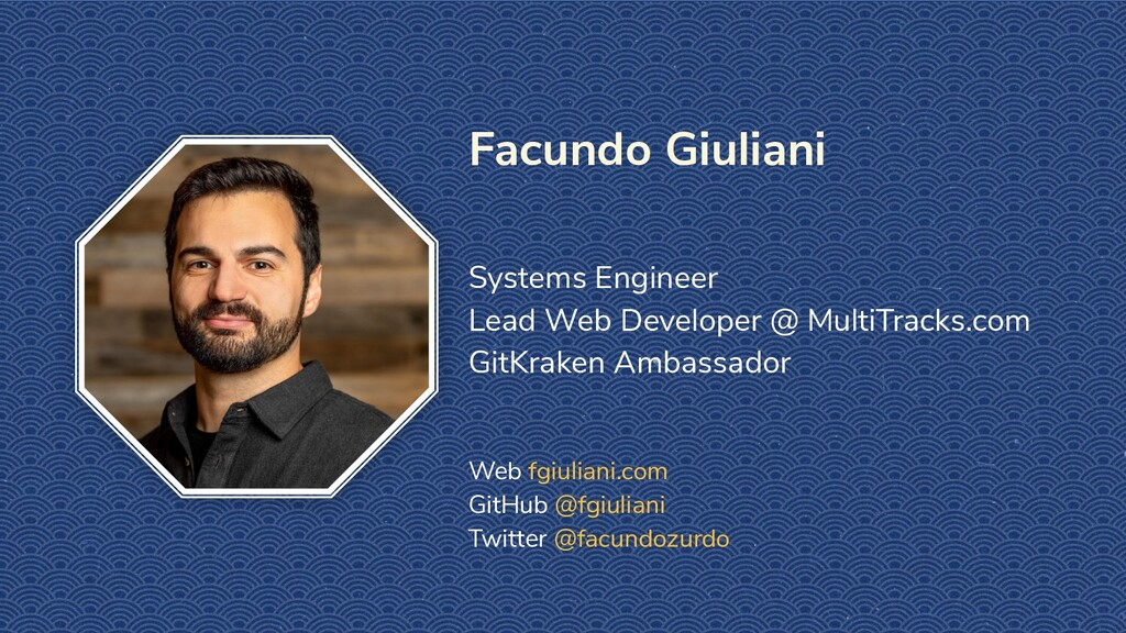 Facundo Giuliani Systems Engineer Lead Web Deve...