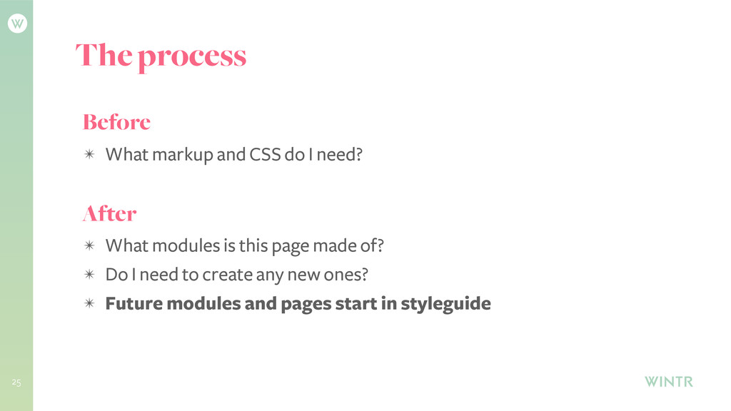 25 Before ✴ What markup and CSS do I need? Afte...