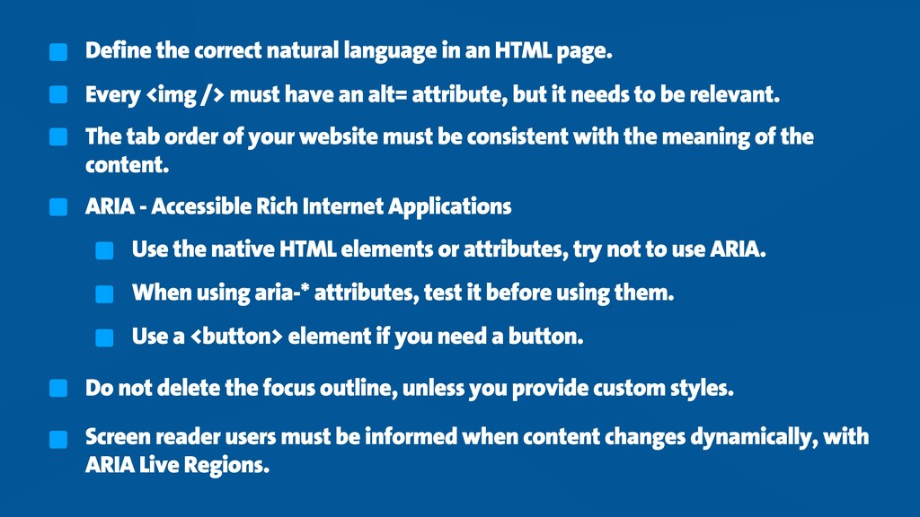 Define the correct natural language in an HTML ...