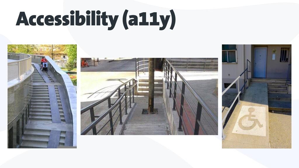 Accessibility (a11y)