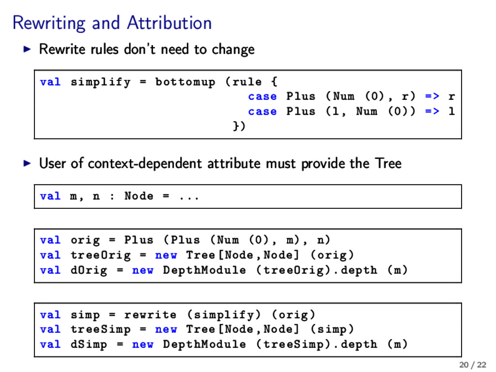Rewriting and Attribution Rewrite rules don't n...
