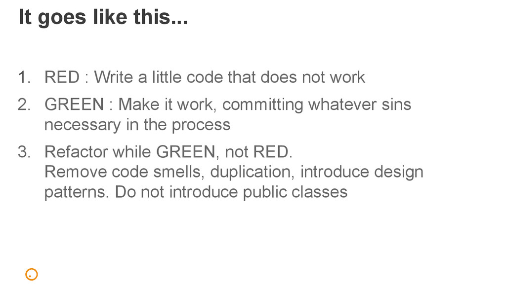 It goes like this... 1. RED : Write a little co...
