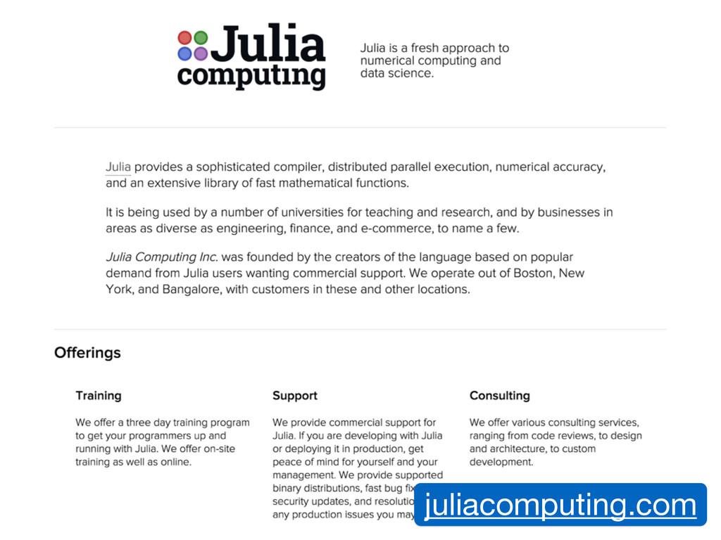 juliacomputing.com