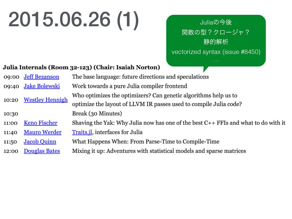 2015.06.26 (1) Juliaͷࠓޙ ؔͷܕʁΫϩʔδϟʁ ੩తղੳ vector...