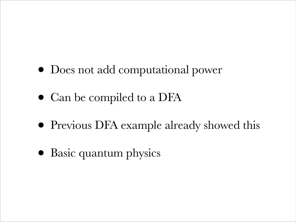 • Does not add computational power • Can be com...
