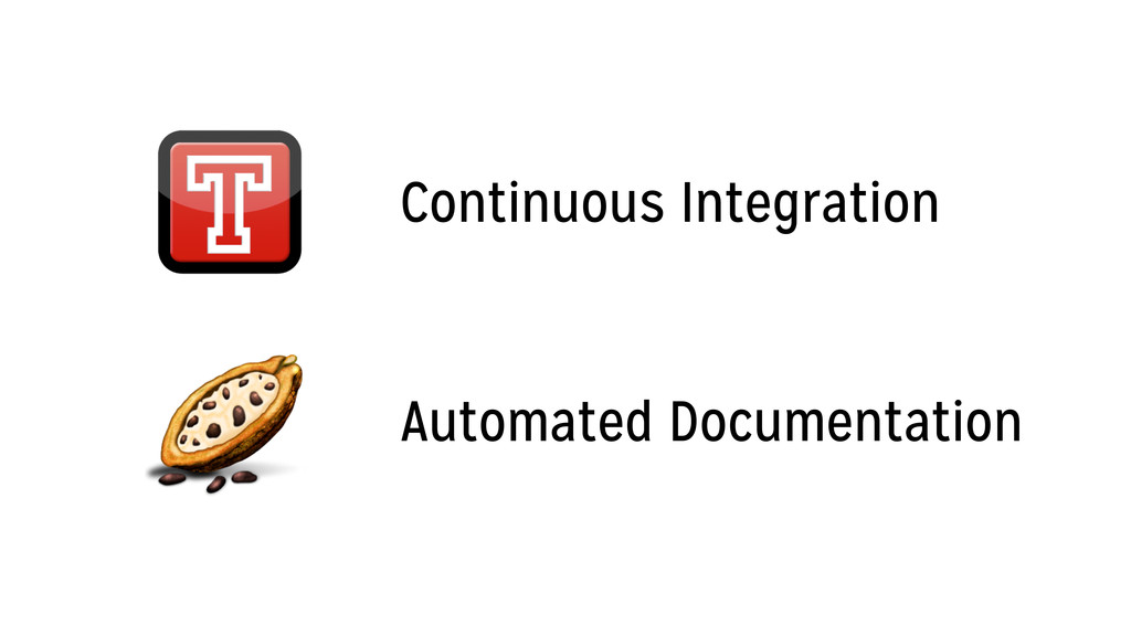 Continuous Integration Automated Documentation