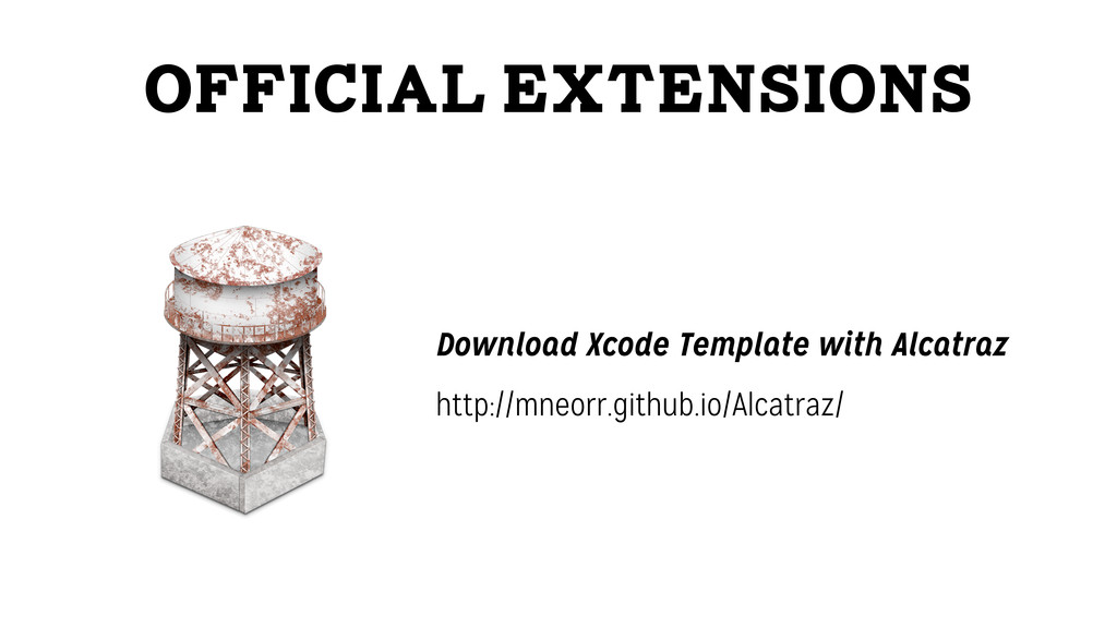 Official Extensions http://mneorr.github.io/Alc...