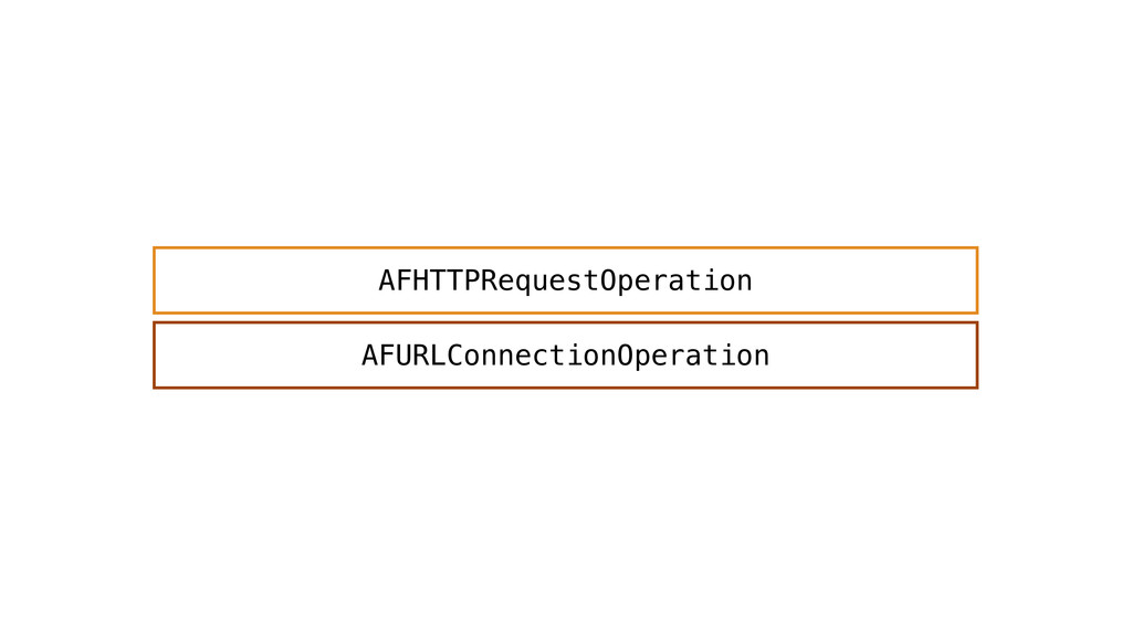 AFURLConnectionOperation AFHTTPRequestOperation