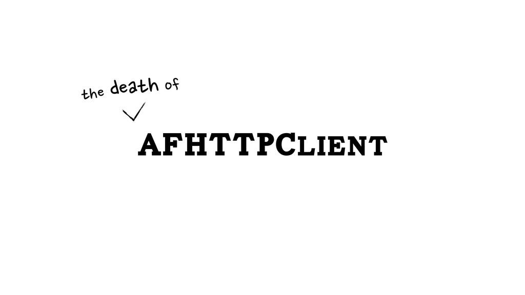 AFHTTPClient the