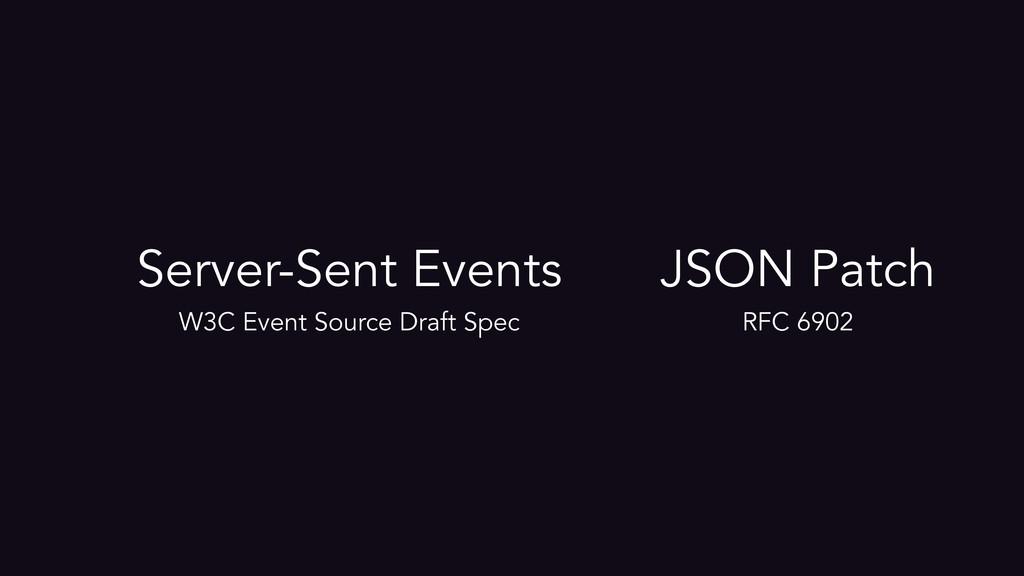 Server-Sent Events W3C Event Source Draft Spec ...