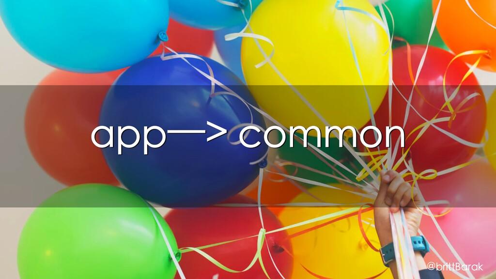 app—> common @brittBarak