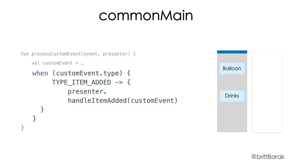 fun processCustomEvent(event, presenter) { val ...