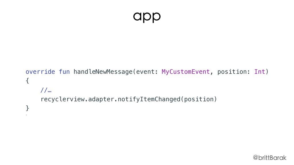 override fun handleNewMessage(event: MyCustomEv...