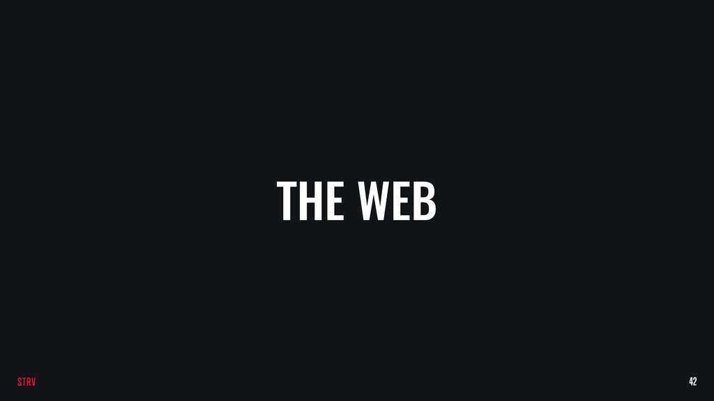 THE WEB 42