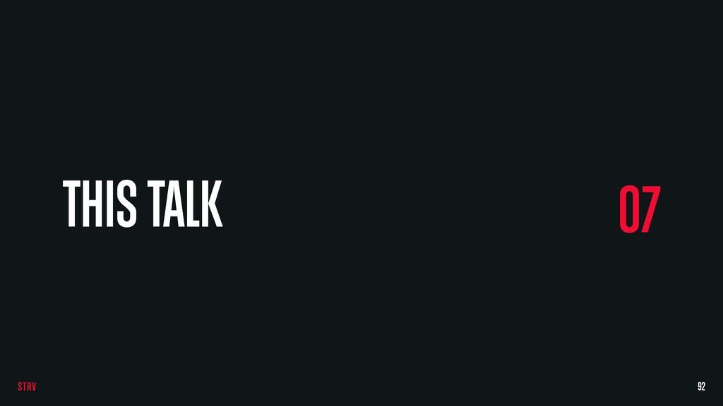 92 07 THIS TALK