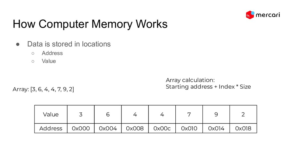How Computer Memory Works ● Data is stored in l...