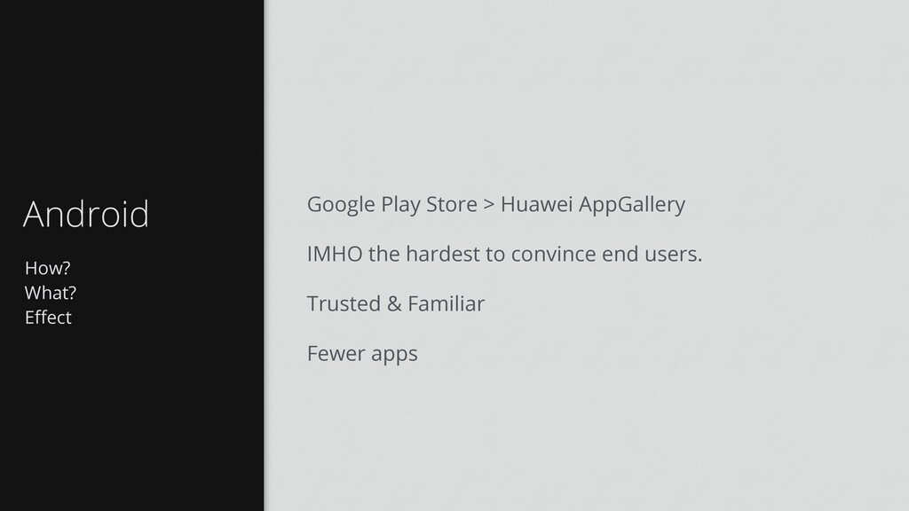 How? What? Effect Android Google Play Store > Hu...