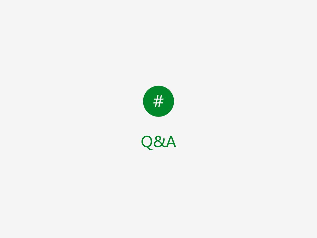 # Q&A
