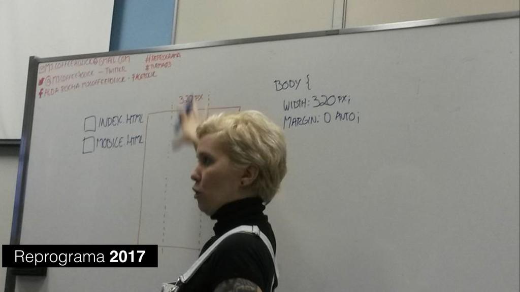 Reprograma 2017