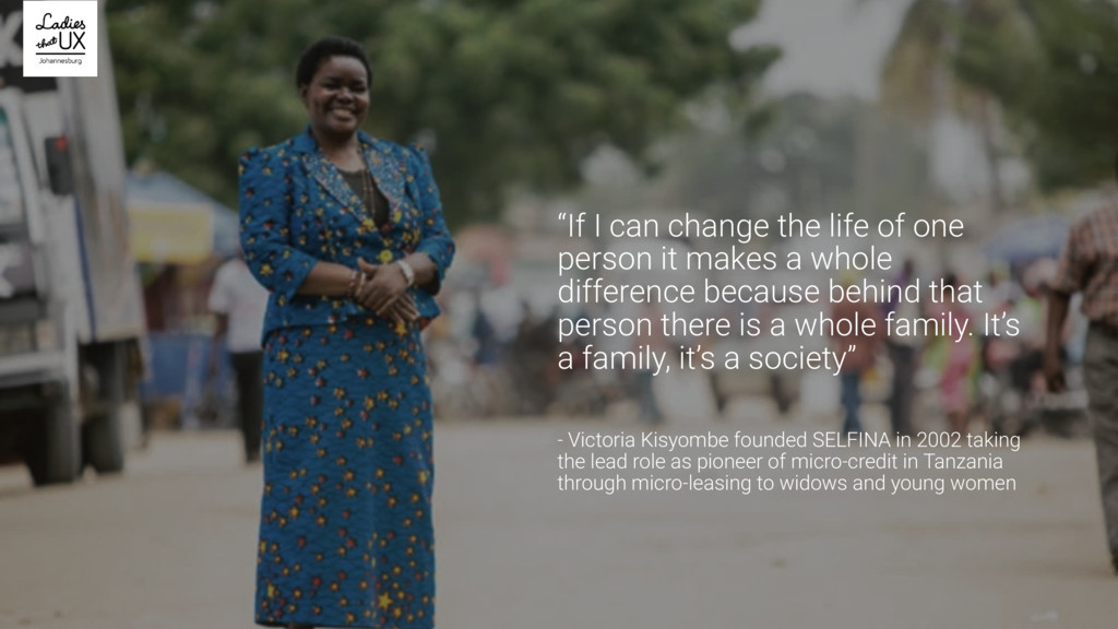 """""""If I can change the life of one person it make..."""